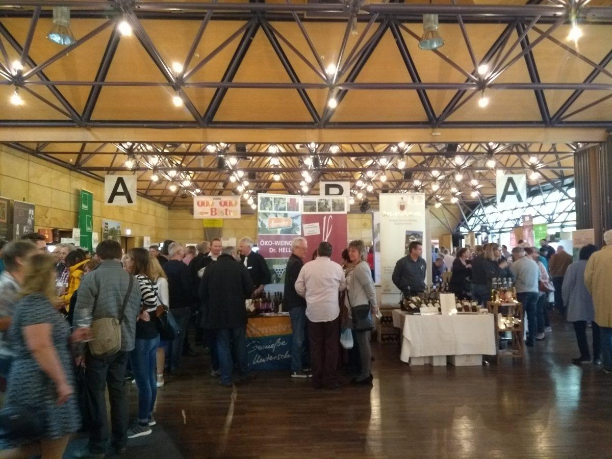 Vinessio Weinmesse Fürth – viel Bio im Weinglas