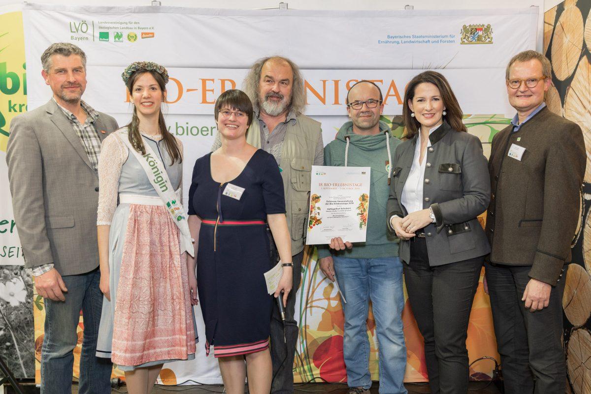 Geflügelhof Schubert wird auf der BioFach geehrt