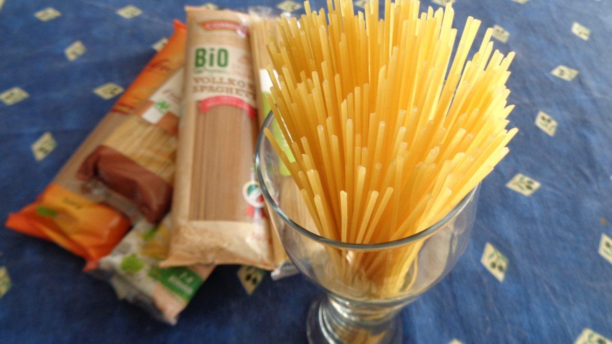 Unglaublich: Bio-Spaghetti im Test durchgefallen
